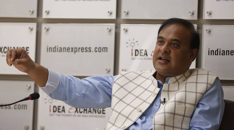 Himanta Biswa Sarma, coronavirus outbreak, stranded people, helpline number, Assam news, indian express news