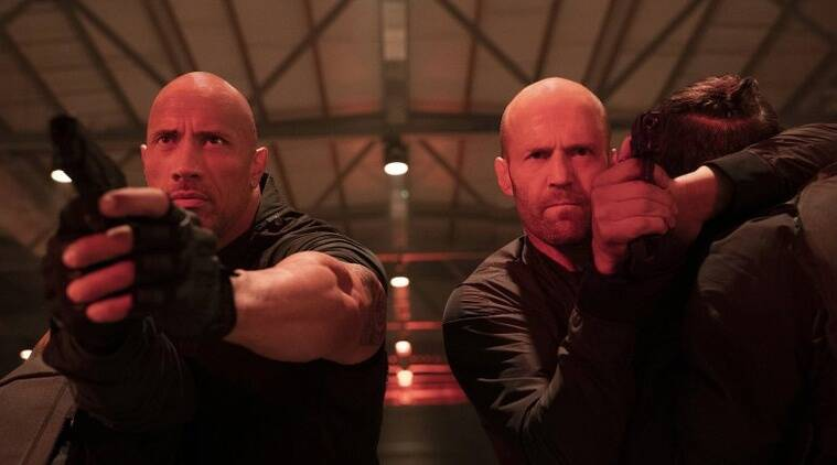 Hobbs and Shaw trails pace of Fast and Furious