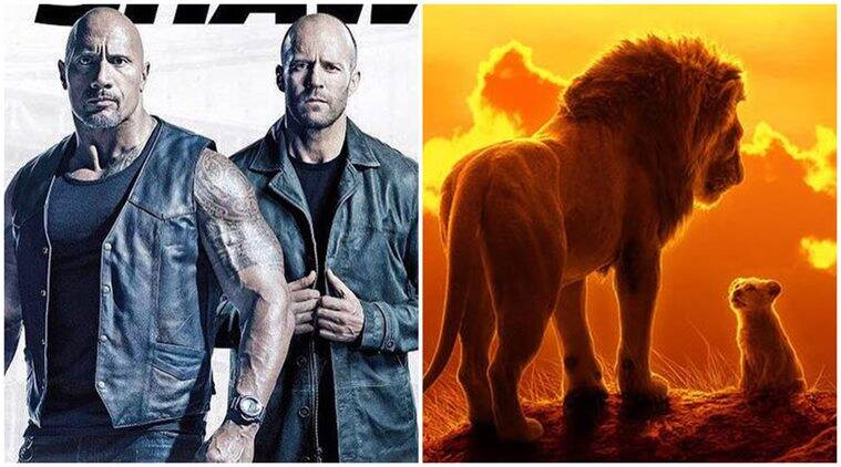 Hobbs and Shaw dethrones The Lion King at the North American box office
