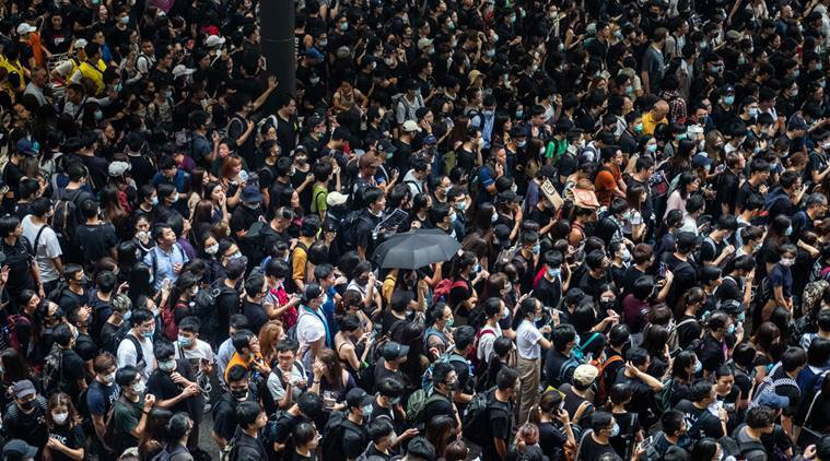 Hong Kong airport, a city's symbol of pride, is now its hub of unrest