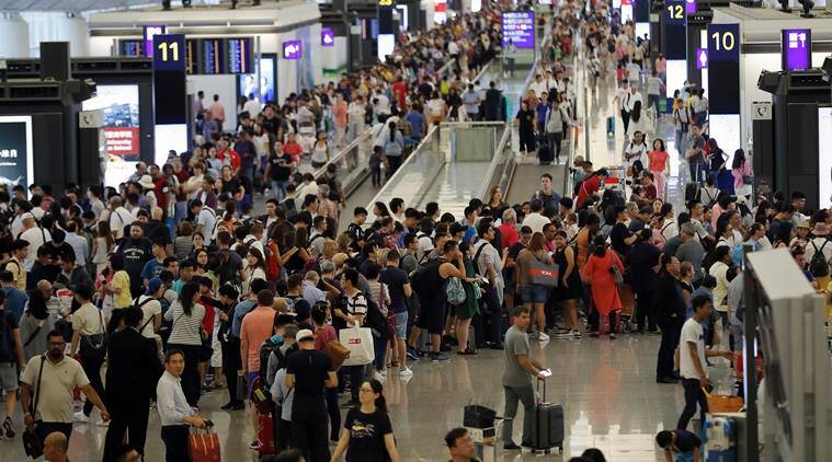 Hong Kong airport reopens day after pro-democracy protests; flights likely to be delayed