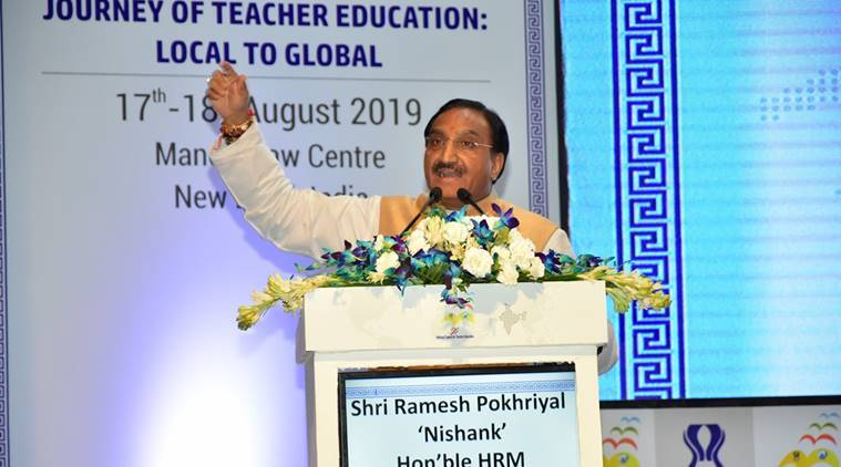 Nishtha, HRD Ministry, Ministry of HRD, Ramesh Pokhriyal Nishank, Teacher training programme, Teacher training, teacher