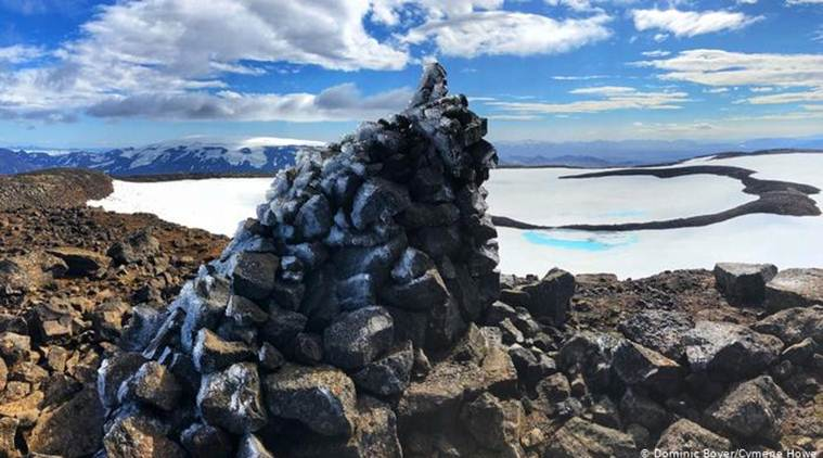 Iceland holds ceremony for first glacier lost to climate change