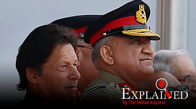 Imran Khan, Pakistan PM, Qamar Javed Bajwa, Pakistan Army chief, qamar bajwa extension, Imran khan extends bajwa tenure, Pakistan news, express explained, Indian express