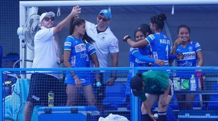 Indian women's hockey team holds Australia to 2-2 draw in