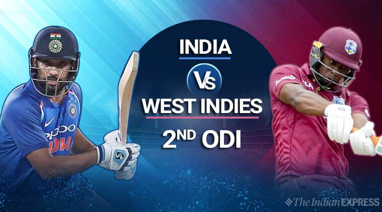 India Vs West Indies 2nd Odi Highlights India Win Rain