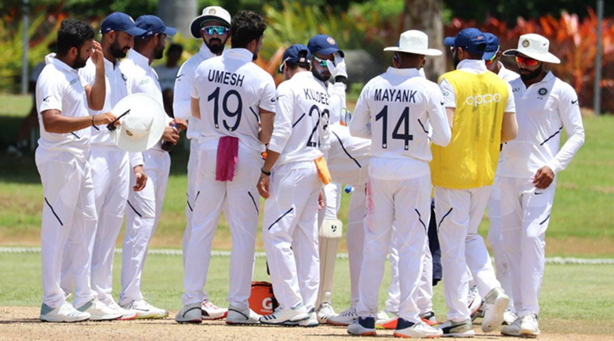 Image result for india vs west indies test match