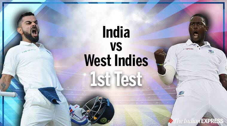 India vs West Indies 1st Test Day 4, Live