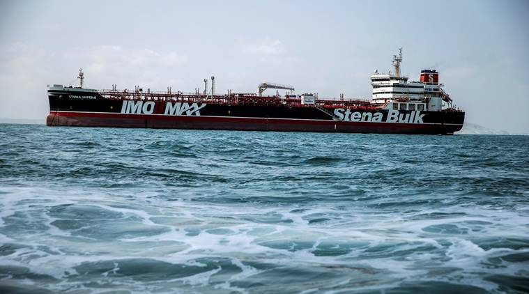 Stena Impero British-flagged tanker detained tanker detained by Iran Stena Bulk Erik Hanell