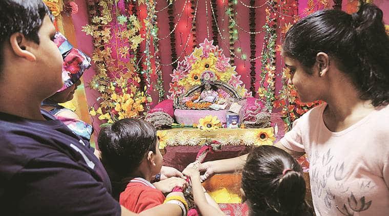 janmashtami, janmashtami celebration, Krishna worship, janmashtami in chandigarh, chandigarh iskcon temple, janamashtami at iskcon temple, indian express