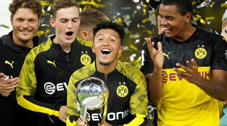 Jadon Sancho stars as Borussia Dortmund down toothless Bayern Munich to win German Super Cup
