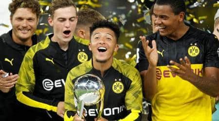 Jadon Sancho, Borussia Dortmund vs Bayern Munich, Bundesliga 2019