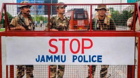 jammu and kashmir bifurcation, article 370, article 370 scrapped, jammu and kashmir restrictions, restrictions in jammu and kashmir, restrictions eased in kashmir valley, kashmir valley restrictions, jammu and kashmir news, india news, Indian Express