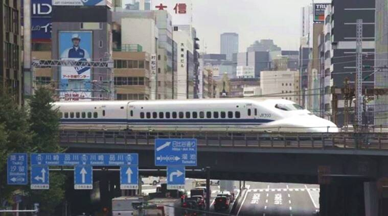 Japan bullet train runs with door open at 280 km/h