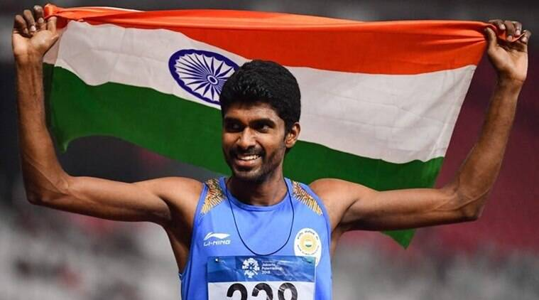 Jinson Johnson to train in US to improve timing and qualify for Tokyo Olympics