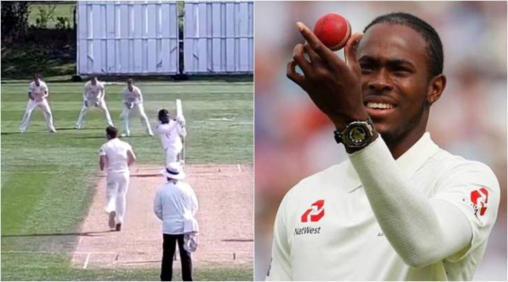 Watch: Jofra Archer claims 6 wickets, hits 84-ball 100 ahead of