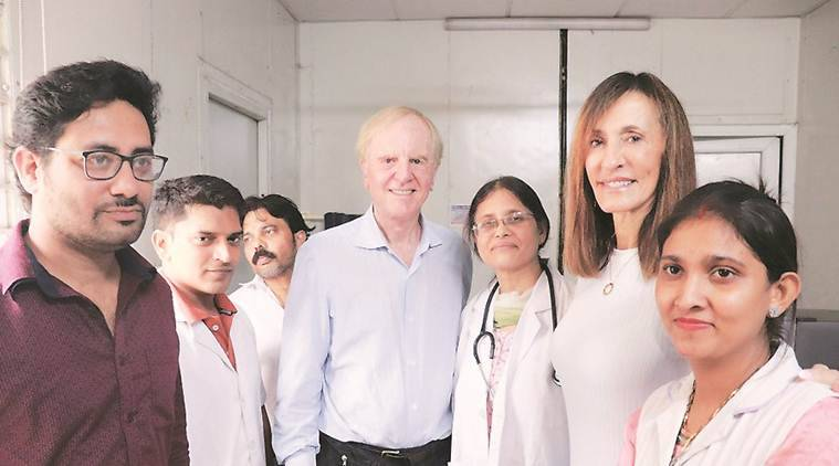 Former Apple CEO, his wife visit mohalla clinic in Delhi