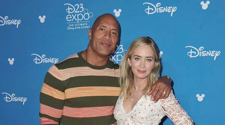 Dwayne Johnson and Emily Blunt starrer Jungle Cruise's footage screened at D23 Expo