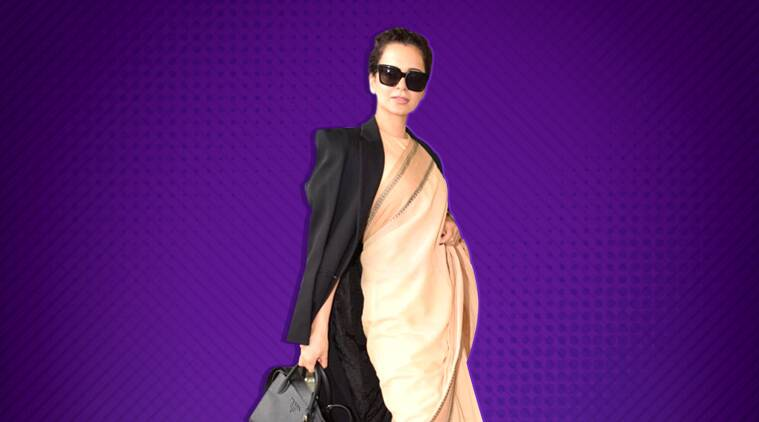 Kangana Ranaut steps out in a cotton sari worth Rs 600, sister tweets 'please support our own'