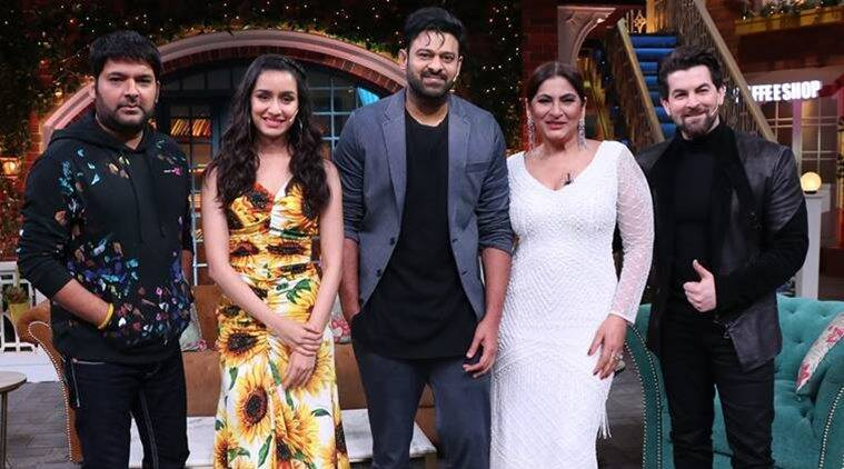 The Kapil Sharma Show preview: Saaho stars Prabhas ...