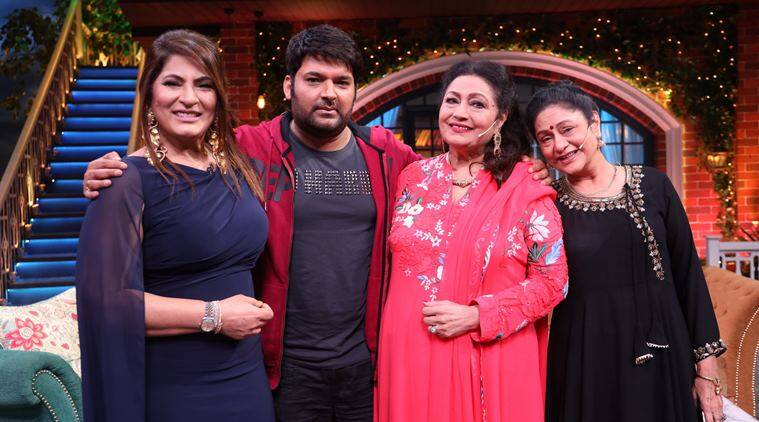 Aruna Irani and Bindu on kapil sharma show