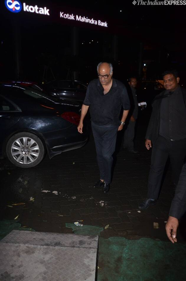 boney kapoor at reena marwah birthday
