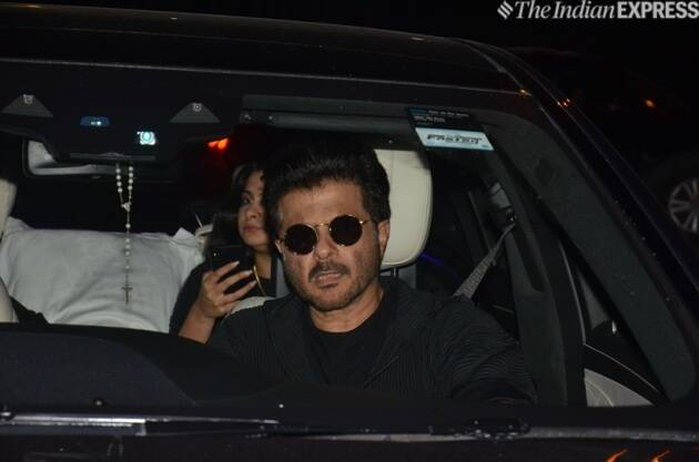 anil kapoor at reena marwah birthday
