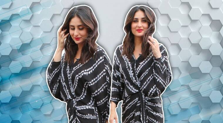 Kareena Kapoor Khan looks stylish in this front wrap tie-up dress; see pics