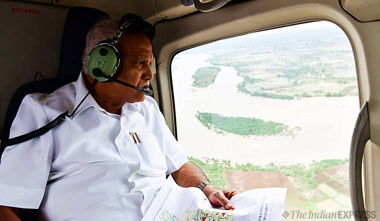 Karnataka floods: BSY offers to name villages after donors giving over Rs 10 crore relief