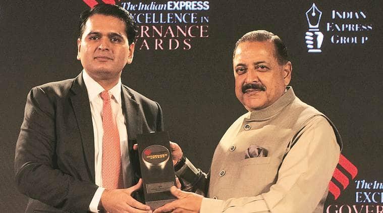 Express Governance Awards, Indian Express Excellence in Governance Awards, The Indian Express Excellence in Governance Awards, indian express awards, nitin gadkari, ram vilas paswan, ravi shankar prasad, jitendra singh, piyush goyal, Indian Express