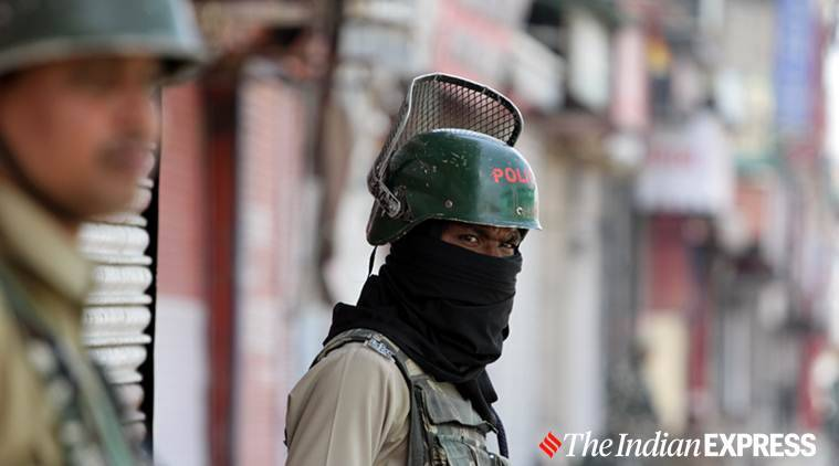 jammu and kashmir, j&k law and order situation, j&k news, srinagar law and order, kashmir news, j&k police report, indian express