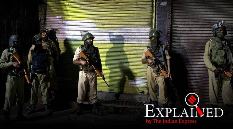 what is section 144 crpc, section 144 crpc, Srinagar Jammu Kashmir, Jammu Kashmir section 144, Jammu Kashmir curfew, Mehbooba Mufti house arrest, Omar abdullah house arrest, jammu kashmir latest news, amarnath yatra suspended, India news
