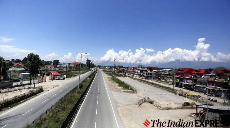 Jammu and Kashmir restrictions and curfew