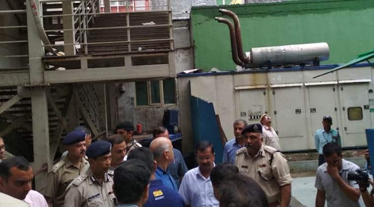 Delhi CM Kejriwal at AIIMS after hospital fire, also visits Arun Jaitley