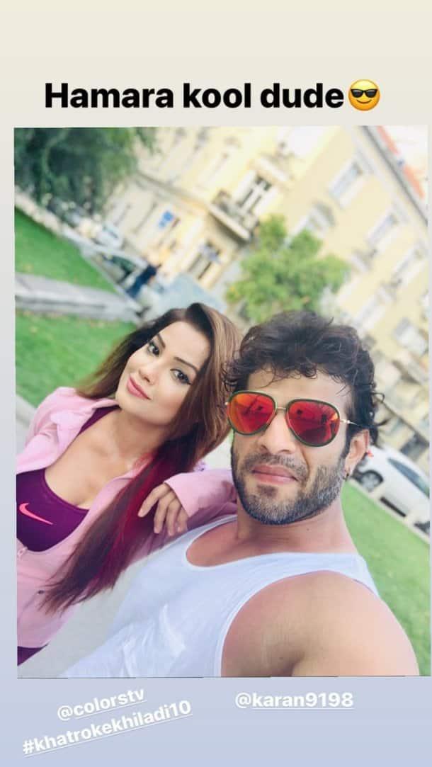 adaa khan shoots for Khatron Ke Khiladi 10