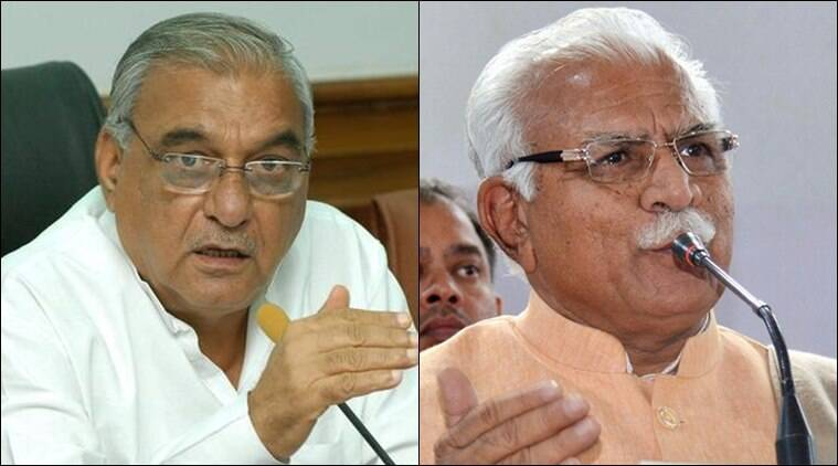 Khattar dares Hooda in ex-CM's Assembly seat, lists achievements