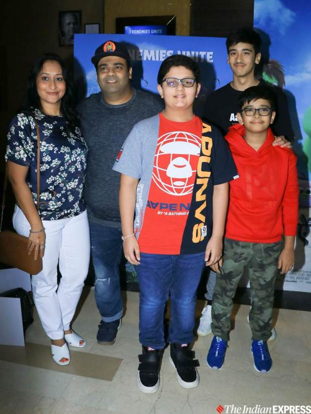 Kiku Sharda family