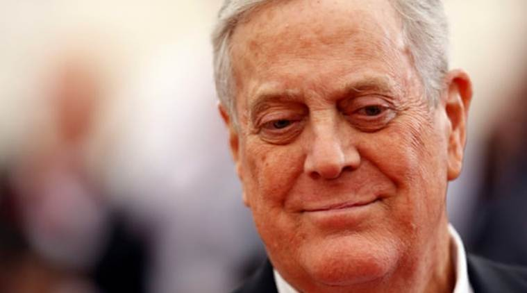 Billionaire industrialist and conservative donor David Koch dies at age 79