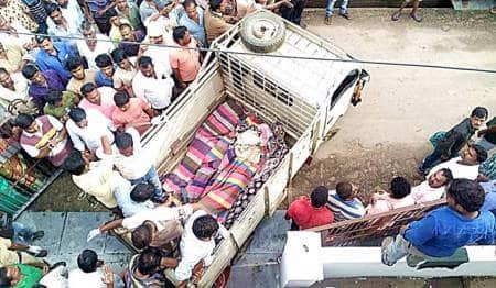 koppal-electrocution-students-dead-flag-pole-hostel