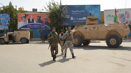 taliban attack military centre, taliban attacks in afghanistan, afghan taliban forces, us taliban peace deal, us in afghanistan, afghanistan news, indian express news