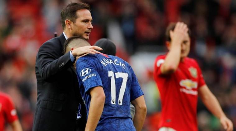 Frank Lampard receives 'reality check' from Manchester United