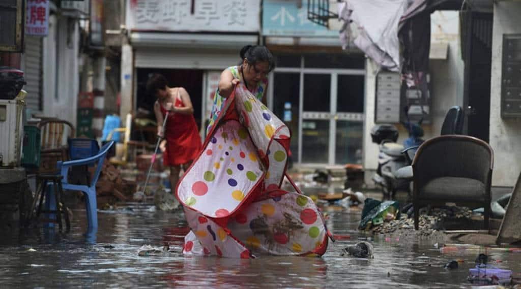 Lekima typhoon, typhoon in china, china typhoon, china lekima typhoon, typhoon news, lekima typhoon, china typhoon lekima, lekima typhoon death toll, china lekima death toll, indian express