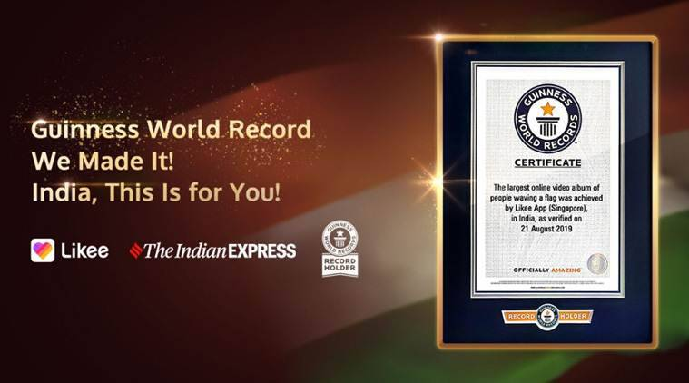 Likee creates Guinness World Record for Independence Day campaign