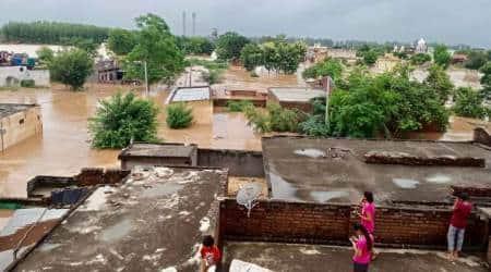 flood alert in ludhiana, ludhiana floods, ludhiana rains, punjab flood alert, sutlej river overflowing, ludhiana news