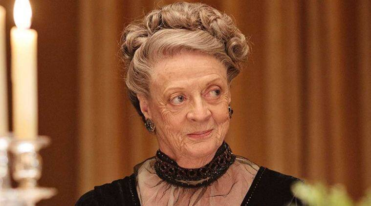 Maggie Smith was the last original cast member to join Downton Abbey film