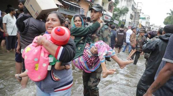 10 points: Rains pound southern, western states; death toll crosses 100