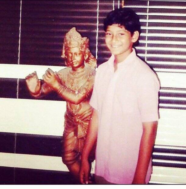 mahesh babu childhood photos