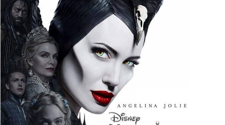 Maleficent Mistress Of Evil Poster Angeline Jolie S Horned