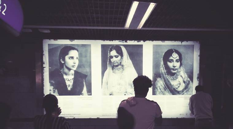 Writing on wall of Mandi House Metro station: Partition stories