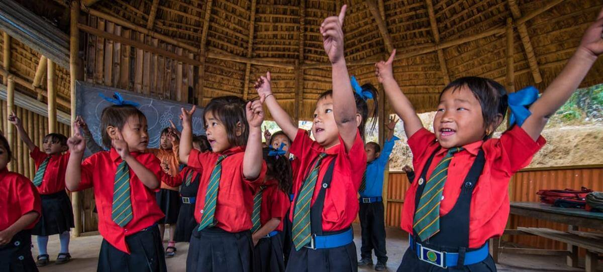 Helping schools in remote, conflict-ridden areas of Manipur teach new lessons in peace